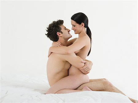 Young couple making love Stock Photo - Premium Royalty-Free, Code: 614-03647998