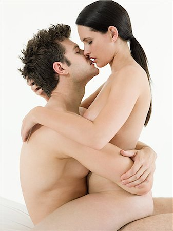 Young couple making love Stock Photo - Premium Royalty-Free, Code: 614-03648019