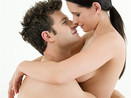 Young couple making love Stock Photo - Premium Royalty-Free, Code: 614-03648012
