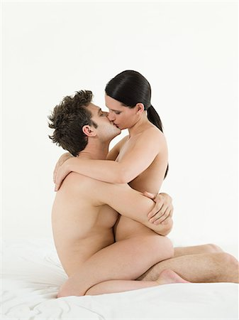 Young couple making love Stock Photo - Premium Royalty-Free, Code: 614-03648026