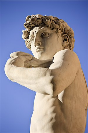 statue of david - Michelangelo's David, Florence, Italy Stock Photo - Premium Royalty-Free, Code: 614-03684254