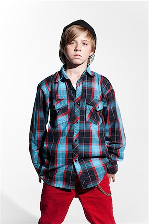 Portrait of a teenage boy Stock Photo - Premium Royalty-Free, Code: 614-03684799