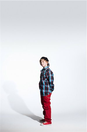 Portrait of a teenage boy Stock Photo - Premium Royalty-Free, Code: 614-03684843