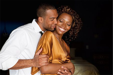 Affectionate young couple Stock Photo - Premium Royalty-Free, Code: 614-03697312