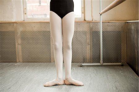 Legs of a ballerina Stock Photo - Premium Royalty-Free, Code: 614-03764314