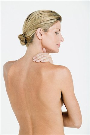 female nud - Nude woman's back Stock Photo - Premium Royalty-Free, Code: 614-03763540