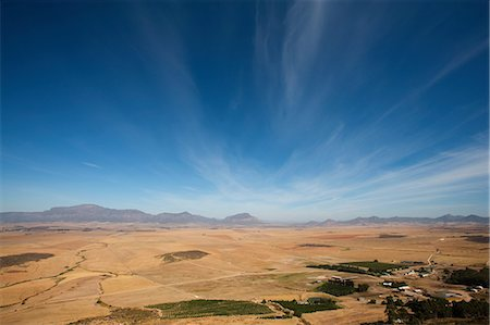 Valley landscape, South Africa Stock Photo - Premium Royalty-Free, Code: 614-03902135