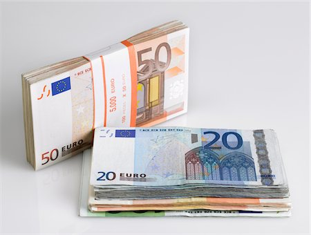 Euros Stock Photo - Premium Royalty-Free, Code: 618-05450947