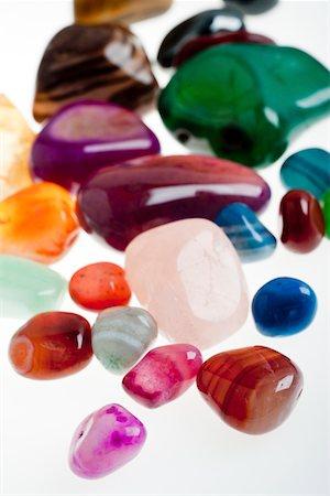 semiprecious gemstones Stock Photo - Premium Royalty-Free, Code: 618-05605366