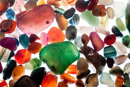 semiprecious gemstones Stock Photo - Premium Royalty-Free, Code: 618-05605372
