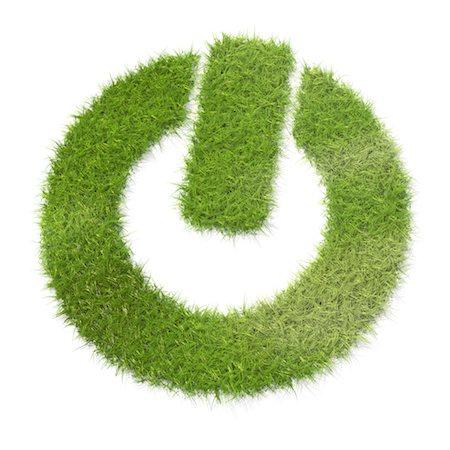 square - Power symbol made of grass Stock Photo - Premium Royalty-Free, Code: 618-05605439