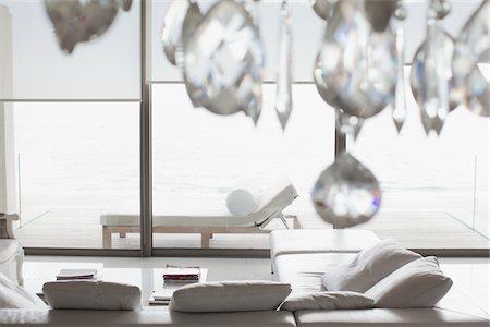 property release - Modern living room interior Stock Photo - Premium Royalty-Free, Code: 618-05761641