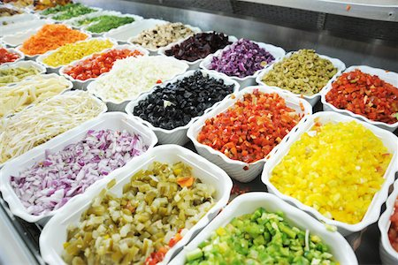 exterior bar - salad bar Stock Photo - Premium Royalty-Free, Code: 618-05761739