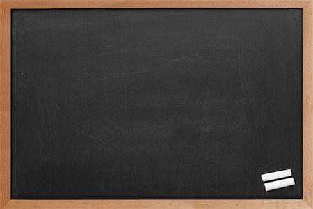 slate - Blank chalkboard Stock Photo - Premium Royalty-Free, Code: 618-05762017