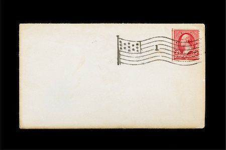 stamped - Old, blank postcard Stock Photo - Premium Royalty-Free, Code: 618-05818219