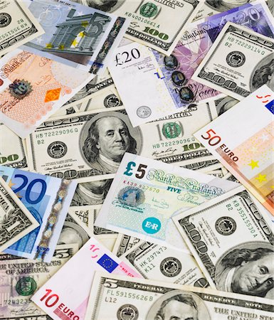 Banknotes Stock Photo - Premium Royalty-Free, Code: 618-05963029