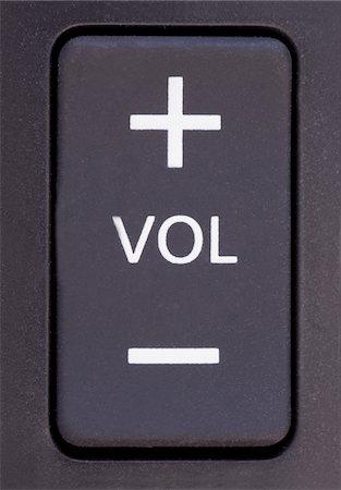 Volume Control Stock Photo - Premium Royalty-Free, Code: 618-05963289