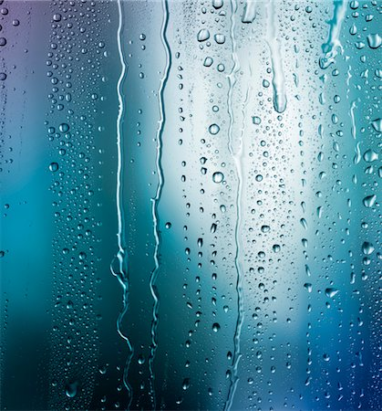 droplet - Bright blue condensation Stock Photo - Premium Royalty-Free, Code: 618-06052467