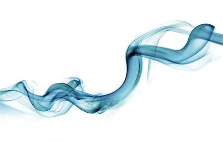 Drift of blue smoke Stock Photo - Premium Royalty-Free, Code: 618-06052478