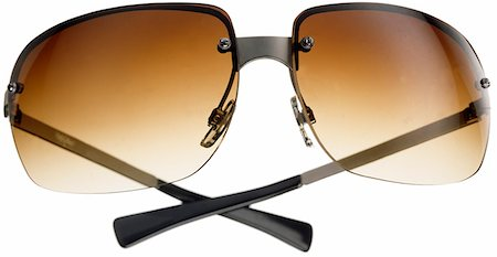 sunglasses - A pair of sunglasses with graduated lenses Stock Photo - Premium Royalty-Free, Code: 618-06318314