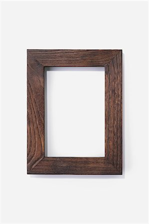 rectangle - Wooden picture frame Stock Photo - Premium Royalty-Free, Code: 618-06406167
