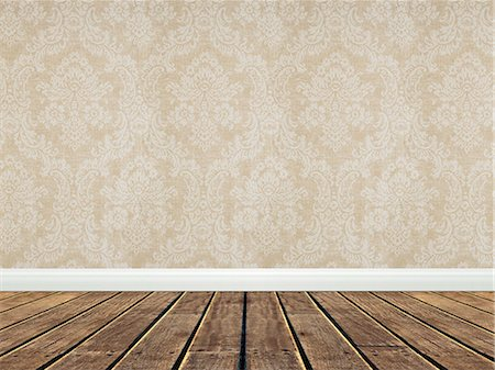 floor - Empty room Stock Photo - Premium Royalty-Free, Code: 618-06504176