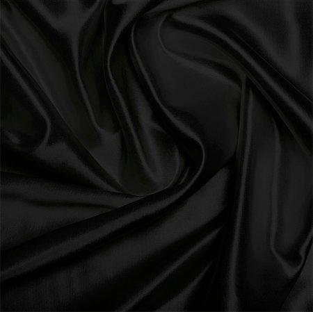 silky - Black piece of satin cloth Stock Photo - Premium Royalty-Free, Code: 618-06503486