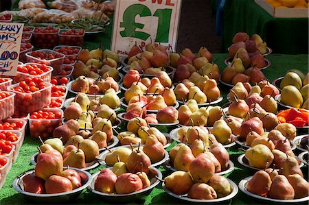 supermarket not people - Fruit and Vegetable Market Stall Stock Photo - Premium Royalty-Free, Code: 618-06503910