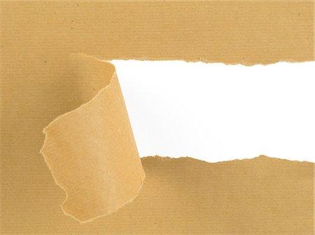 paper - Torn, brown paper Stock Photo - Premium Royalty-Free, Code: 618-06538640