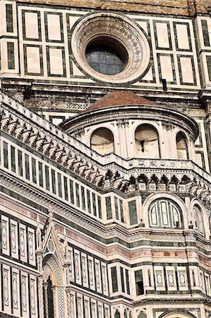 european (places and things) - duomo in florence Stock Photo - Premium Royalty-Free, Code: 618-06538737