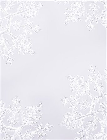 snowflakes  holiday - Snowflakes Stock Photo - Premium Royalty-Free, Code: 618-06538785