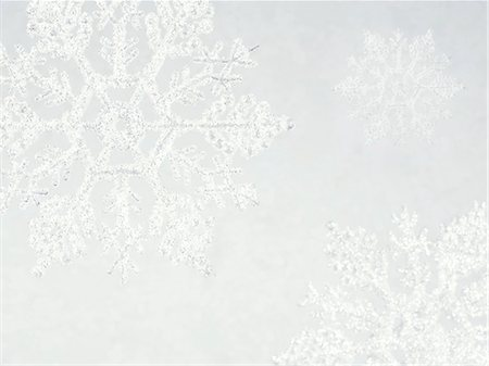 snowflakes  holiday - Snowflakes Stock Photo - Premium Royalty-Free, Code: 618-06538787
