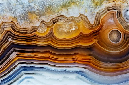 patterned - Lines & pattern in Agua Nueva Mexican Agate Stock Photo - Premium Royalty-Free, Code: 618-06818430