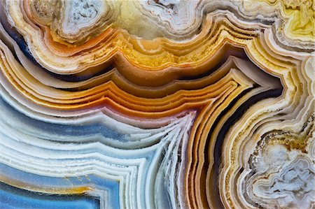 pattern - Lines and pattern in Agua Nueva Mexican Agate Stock Photo - Premium Royalty-Free, Code: 618-06818433