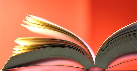 page - close-up of a book Stock Photo - Premium Royalty-Free, Code: 618-06836871