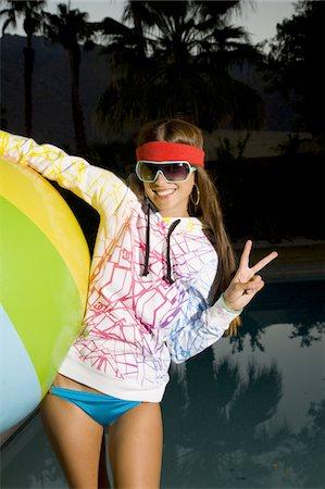 Cute girl in punk streetwear Stock Photo - Premium Royalty-Free, Code: 618-07383860