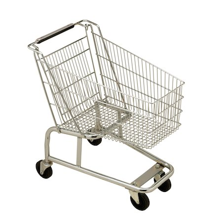 empty shopping cart - Shopping Cart Stock Photo - Premium Royalty-Free, Code: 618-07402149