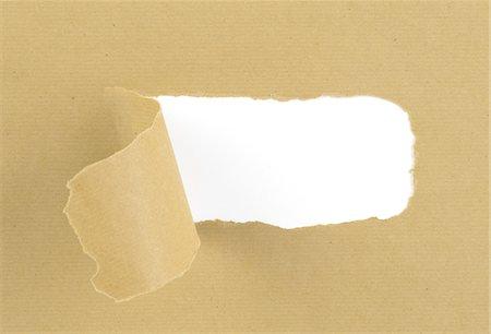 paper - Torn, brown paper Stock Photo - Premium Royalty-Free, Code: 618-07458099