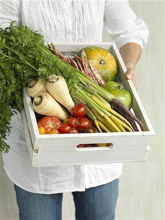 food - Heirloom Vegetables Stock Photo - Premium Royalty-Free, Code: 618-07524098