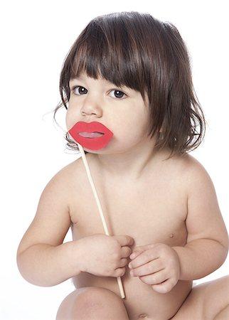 Sofia and lips Stock Photo - Premium Royalty-Free, Code: 618-07653746