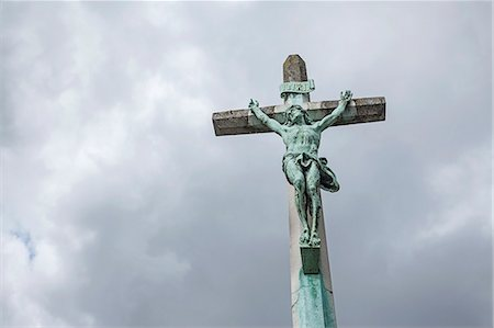 religious cross nobody - Statue of Jesus Christ Stock Photo - Premium Royalty-Free, Code: 618-08067329