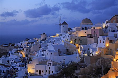 Greece, Santorini, Oia Stock Photo - Premium Royalty-Free, Code: 618-08067344