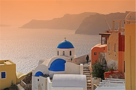 Greece, Santorini, Church Stock Photo - Premium Royalty-Free, Code: 618-08067345