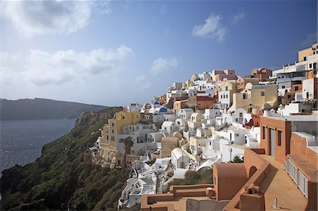 Greece, Santorini, Oia Stock Photo - Premium Royalty-Free, Code: 618-08067354