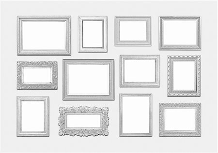 rectangle - Picture frames Stock Photo - Premium Royalty-Free, Code: 618-08102567