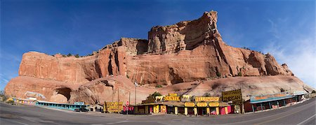 Route 66 trading post. Stock Photo - Premium Royalty-Free, Code: 618-08244742