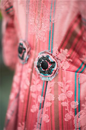 fabric - Details of a Traditional Jacket Stock Photo - Premium Royalty-Free, Code: 618-08388675