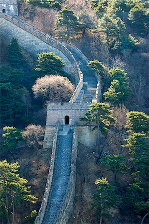 The Great Wall . Stock Photo - Premium Royalty-Free, Code: 618-08645586