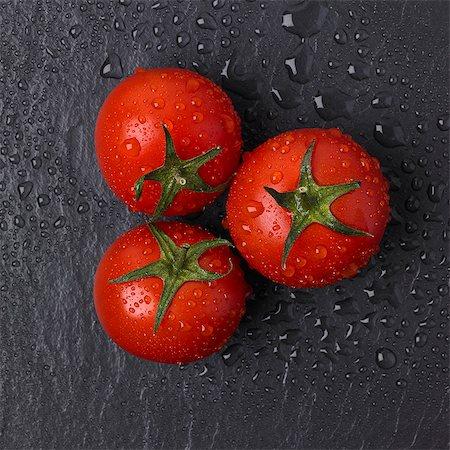 slate - Fresh picked vine tomatoes on slate Stock Photo - Premium Royalty-Free, Code: 618-08687429