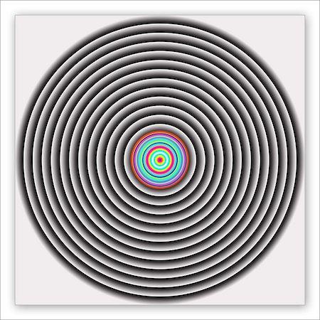 Circles Creative Abstract Design Stock Photo - Premium Royalty-Free, Code: 618-08739056